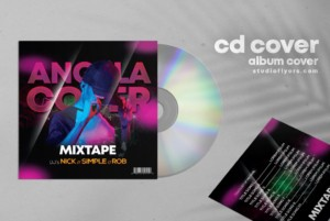 Angela – Free Dj CD Mixtape PSD Template