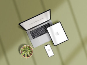 Apple Devices Showcase Free Mockup