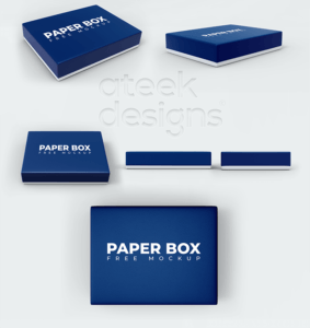 Box with Lid Free Mockup Bundle
