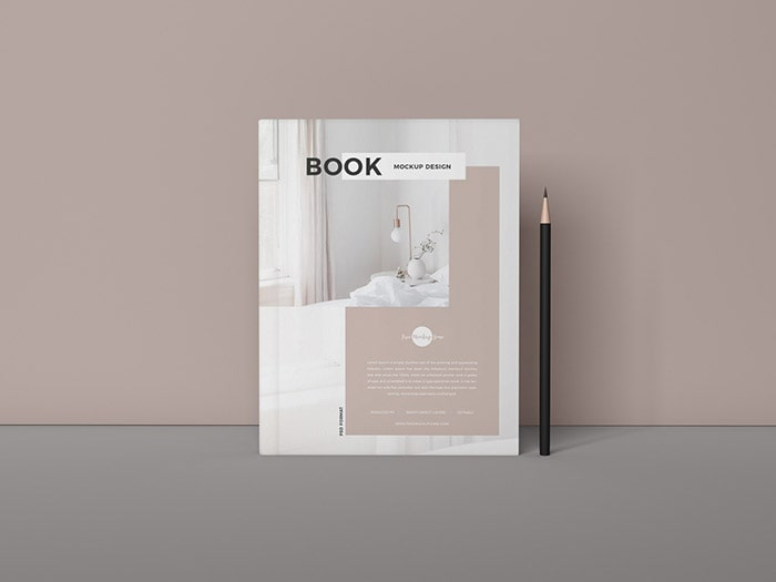 Branding Book Cover Free Mockup