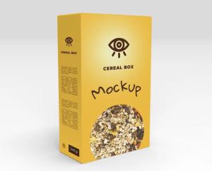 Cereal Box Free Mockups