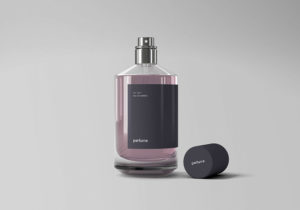 Classic Perfume Free Mockup