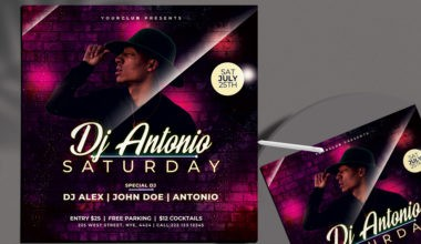 Club Zone - Free Party PSD Flyer Template