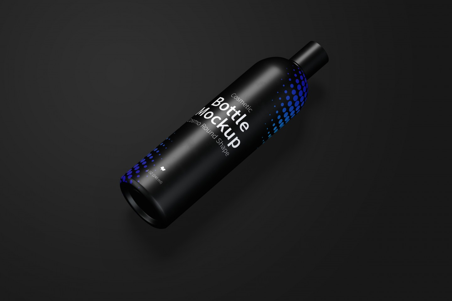 Cosmo Cosmetic Bottle Free Mockup