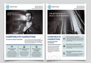 Creative Flyer for Corporates Free PSD Template
