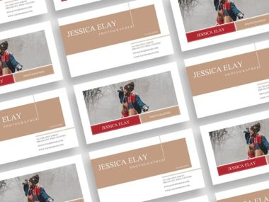 Creative Photography Business Card PSD Free Template