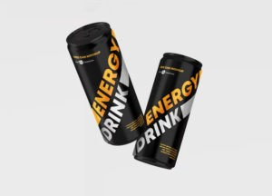 Energy Drink Can Free Mockup