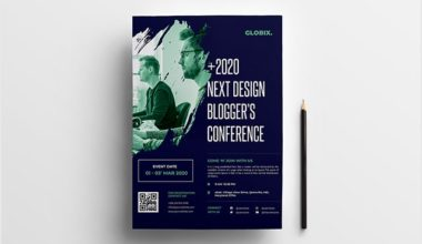 Event Conference Free PSD Flyer Template