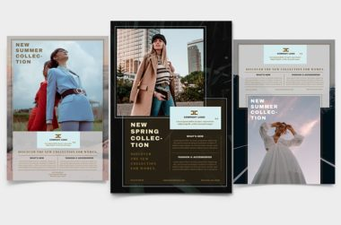 Fashion Store Free PSD Flyer Template