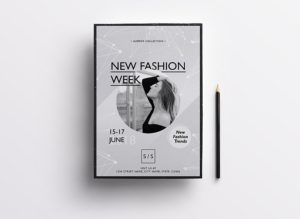 Fashion Week Freebie PSD Flyer Template