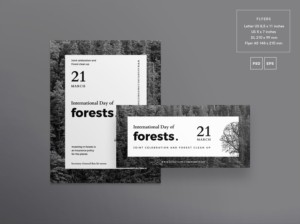 Forest Day Free PSD Flyer Template