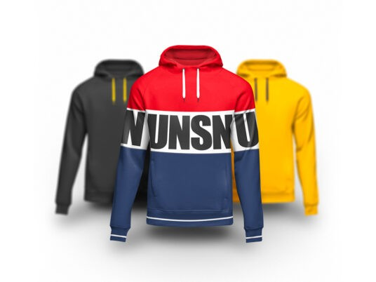 Hoodie with Pull Strings Free Mockup