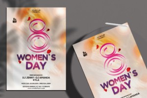 International Women's Day Free PSD Flyer Template