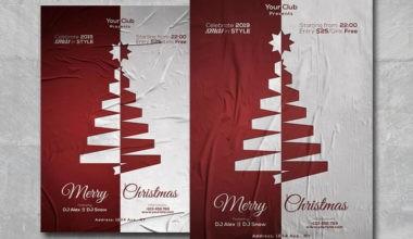 Merry Xmas vol2 Free PSD Flyer Template