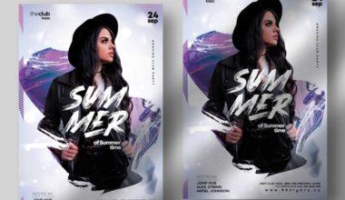 Nightclub Vibe Free PSD Flyer Template vol1