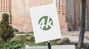 Outdoor Sign 4k Free Mockup