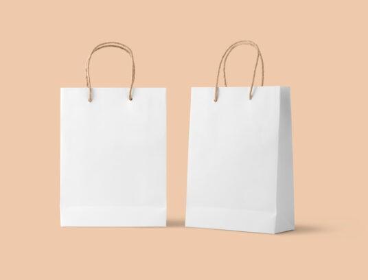 Paper Bags Free Mockup