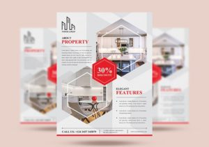 Real Estate Ad Free PSD Flyer Template