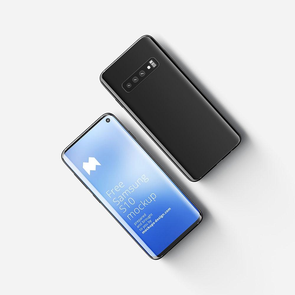 Samsung Galaxy S10 Free Mockups