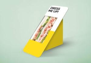 Sandwich Packaging Free Mockup