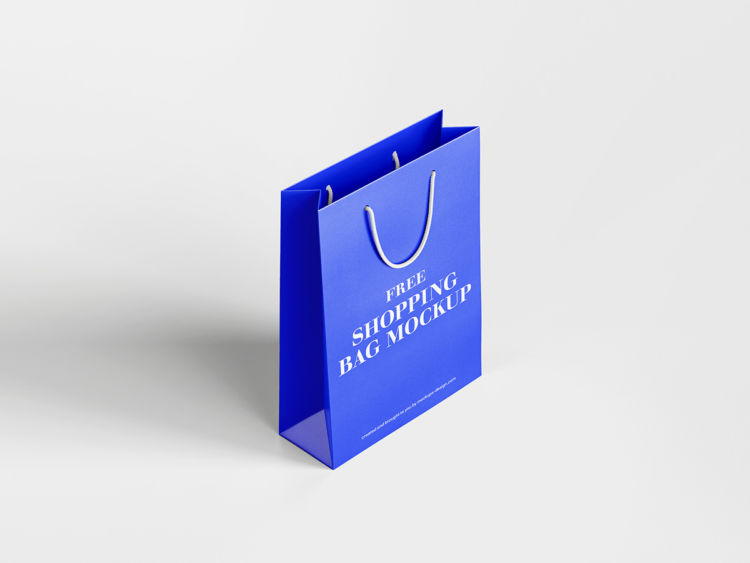 Shopping Bag Freebie Mockup