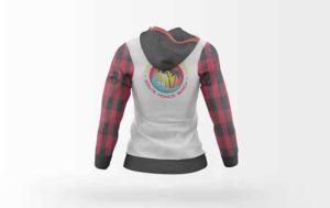 Women Hoodie Jacket Free Mockup