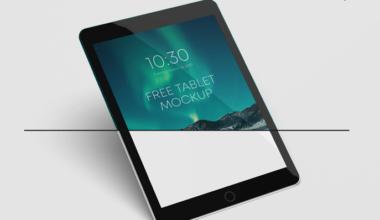 Android Tablet Freebie Mockup
