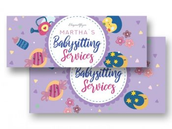 Babysitting Freebie Facebook Cover (PSD)