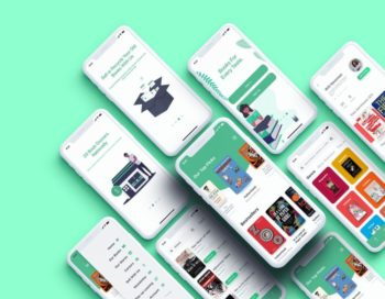 Bookstore Free XD UI kit