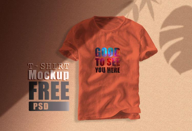 Branding T-Shirt Free Mockup