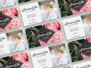 Bridal Photography Free Business Card PSD Template