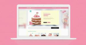Cake Free UI Kit Web Template in XD