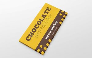 Chocolate Bar Free MockUp
