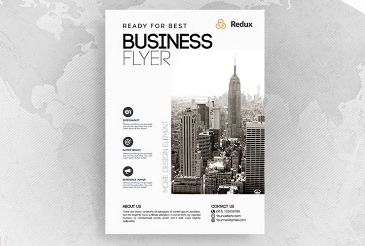 City Conference Free Business PSD Flyer
