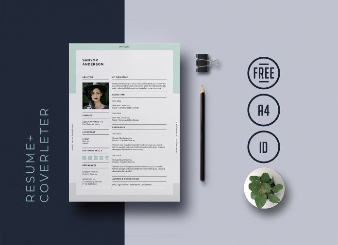 Classic Resume Template for InDesign v7