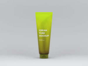 Cream Tube Freebie Mockup