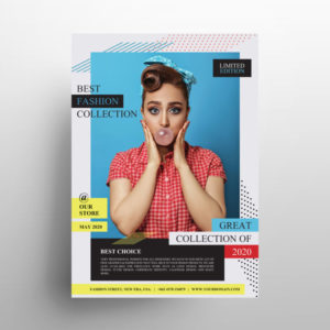 Creative Fashion Sale PSD Free Flyer Template