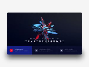 Cryptocurrency Landing Page Free XD