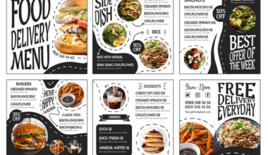 Fast Food Delivery Freebie Instagram PSD Banners