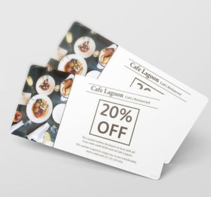 Food Voucher Free PSD Template