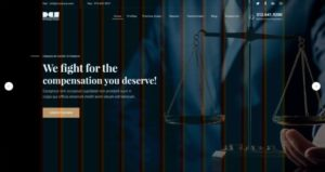 Law Firm Free XD Website Template