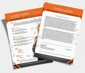 Manager – Free Resume CV PSD Template
