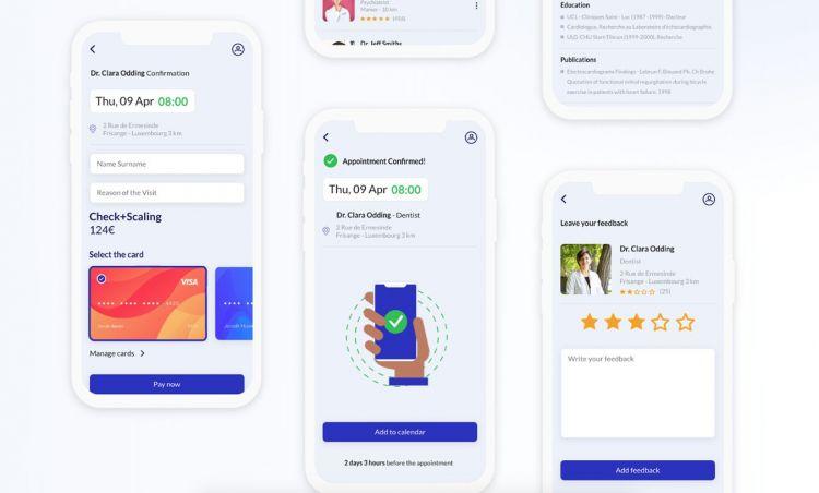 Medical App Design Freebie UI Kit