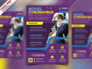 Medical Services Free PSD Flyer Template
