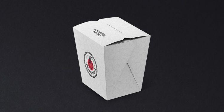 Noodles Box Free Mockup Set