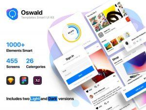 Oswald Smart App Free UI Templates