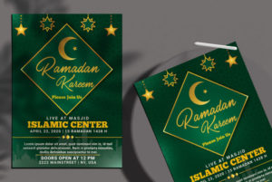 Ramadan Kareem Ad PSD Free Flyer Template