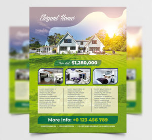 Real Estate Sale Free PSD Flyer Template