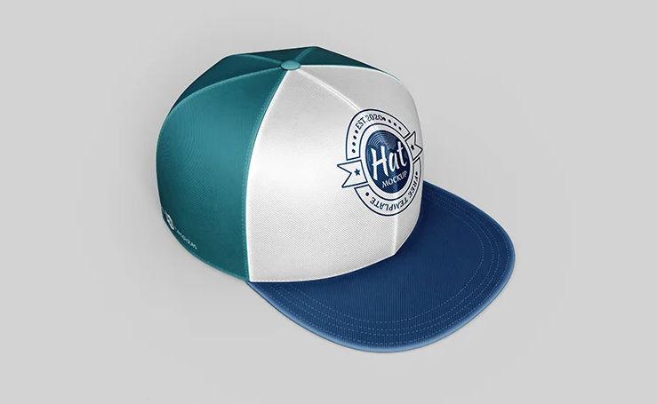 Realistic Hat Free Mockup