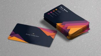 Stylish Business Card Free PSD Template